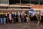 November 28, 2015:   Mohaymen with Junior Alvarado the Grade II Remsen Stakes for 2-year olds, going 1 1/8 mile at Belmont Park.  Trainer Kiaran McGaughey III. Owner Shadwell Stable. Sue Kawczynski/ESW/CSM