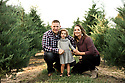 Gibson Family Christmas Tree Farm Petite Session 2018