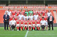 Persconferentie Standard Femina de Liege : ploegfoto 2013 - 2014<br /> foto Joke Vuylsteke / nikonpro.be