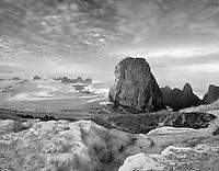 S00070M.tif   Sunrise at Seal Rock, Oregon