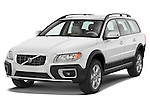 Front three quarter view of a 2008 Volvo XC 70