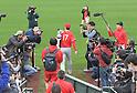 MLB: Los Angeles Angels spring training baseball camp