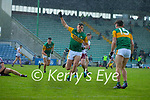 David Clifford, Kerry celebrates after scoring his side's third goal during the Allianz Football League Division 1 South Round 1 match between Kerry and Galway at Austin Stack Park in Tralee.
