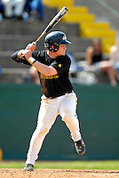 21 April 2007: University of Vermont Catamounts' Kyle Massie, a Junior from Rutland, VT, in action against the University of Hartford Hawks at Historic Centennial Field, in Burlington, Vermont...Mandatory Photo Credit: Ed Wolfstein Photo