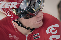 Jurgen Roelandts (BEL/Lotto-Soudal) ready to roll in the startbox<br /> <br /> 104th Tour de France 2017<br /> Stage 20 (ITT) - Marseille › Marseille (23km)