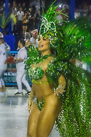 RIO DE JANEIRO (RJ) 29.02.2020 - Carnaval - Rio Escola de samba Mocidade Independente de Padre Miguel no desfile das campeas das escolas de samba do Grupo Especial do Rio de Janeiro neste sabado (29) na Marquues de Sapucai. Destaque Jaqueline Grohalski (Foto: Ellan Lustosa/Codigo 19/Codigo 19)