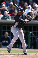 March 4, 2010:  Second Baseman Robinson Cano of the New York Yankees during a Spring Training game at Bright House Field in Clearwater, FL.  Photo By Mike Janes/Four Seam Images