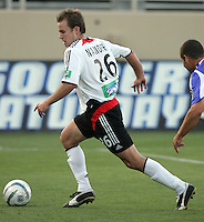 4 June 2005:  Bryan Namoff of DC United in action against Earthquakes at Spartan Stadium in San Jose, California.  Earthquakes tied DC United, 0-0.  Credit: Michael Pimentel / ISI