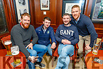 Dan O'Connor, Aidan Sheehy, Dermot Herlihy and Brian O'Sullivan enjoying the Cheltenham Gold Cup day on Friday in the Castle Bar.