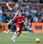 04.08.2019 Kilmarnock v Rangers: Scott Arfield and Alan Power