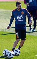Spain's Koke Resurreccion during training session. March 21,2018.(ALTERPHOTOS/Acero) /NortePhoto.com NORTEPHOTOMEXICO