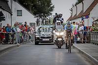 Remco Evenepoel (BEL/Deceuninck-Quick Step)<br /> <br /> 88th UCI Road World Championships 2021 – ITT (WC)<br /> Men's Elite Time trial from Knokke-Heist to Brugge (43.3km)<br /> <br /> ©Kramon