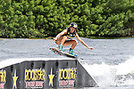 September 13, 2014:  Scenes from the WWA Wakeboard World Championships at Mills Pond Park in Fort Lauderdale, FL.  Women's  Professional Wakeboarder, Amber Wing AUS finishes 2nd in the event.  Liz Lamont/ESW/CSM