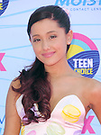Ariana Grande at FOX's 2012 Teen Choice Awards held at The Gibson Ampitheatre in Universal City, California on July 22,2012                                                                               © 2012 Hollywood Press Agency