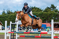 NZL-Emma Buckingham rides Piccadilly Circus. Class: 24 - Dunstan Horsefeeds Amateur Rider Series. 2020 NZL-Fiber Fresh GP SJ Show Spring Series Show. Woodhill Sands. Sunday 20 September. Copyright Photo: Libby Law Photography