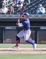 Steele Walker - Texas Rangers 2021 spring training (Bill Mitchell)