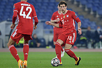 Leon Goretzka of FC Bayern Munchen in action during the Champions League round of 16 football match between SS Lazio and Bayern Munchen at stadio Olimpico in Rome (Italy), February, 23th, 2021. Photo Andrea Staccioli / Insidefoto