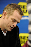 Rosemere (Qc) CANADA - Nov 15 2008-<br /> <br /> Garou sign autographs for 250 lucky fans at the new best buy store opening in Rosemere, north of Montreal.