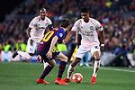 UEFA Champions League 2018/2019.<br /> Quarter-finals 2nd leg.<br /> FC Barcelona vs Manchester United: 3-0.<br /> Sergi Roberto vs Marcus Rashford.