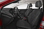 Front seat view of a 2015 Ford Focus Titanium 5 Door Hatchback Front Seat car photos