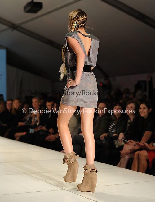 Ava Sambora walks the Runway at The WTB Spring 2011 Fashion Show Presented by Richie Sambora & Nikki Lund held at Sunset Gower Studios in Hollywood, California on October 17,2010                                                                               © 2010 Hollywood Press Agency