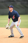 March 20th 2008:  Jordan Brown of the Cleveland Indians minor league system during Spring Training at Chain of Lakes Training Complex in Winter Haven, FL.  Photo by:  Mike Janes/Four Seam Images