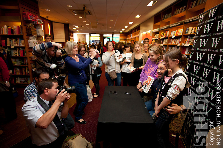 Louie Spence Book Signing and Dance Routine with Ministry of Dance from Market Deeping Nr Peterborough