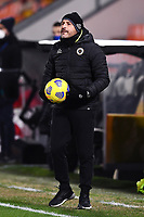 Martin coach of Spain reacts during the Serie A football match between Spezia Calcio and AC Milan at Spezia stadium in Spezia (Italy), February 13th, 2021. Photo Image Sport / Insidefoto
