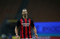 Italian Serie A football match between Inter Milan and AC Milan at Milan's Giuseppe Meazza stadium, October 17, 2020.<br /> UPDATE IMAGES PRESS/Isabella Bonotto