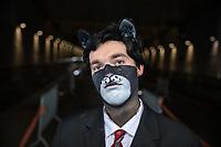 John Blacksad Cosplay by Rayshugga Kimato, Pax West Seattle, WA, USA.