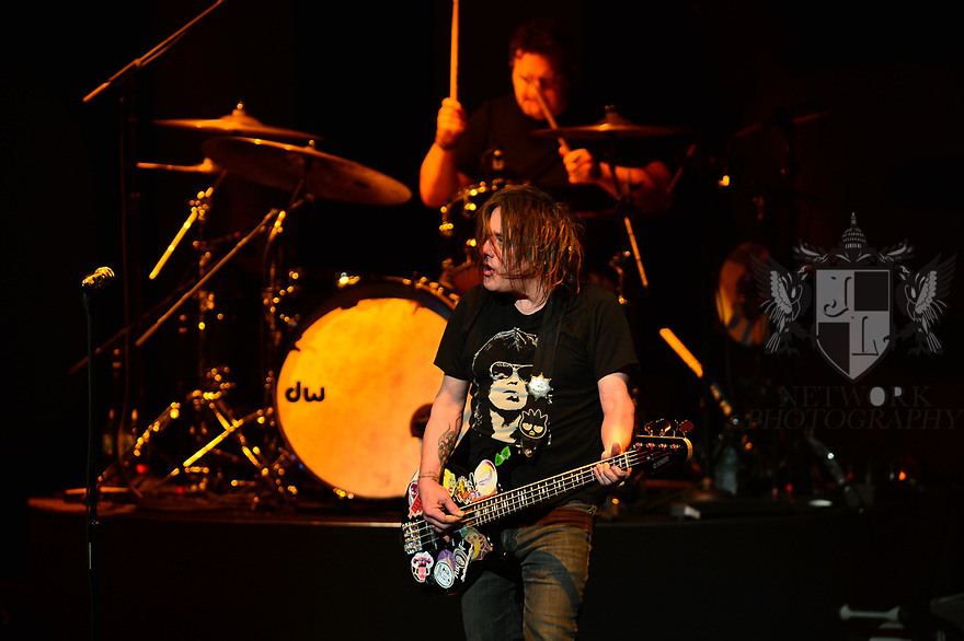 HOLLYWOOD, FL - JANUARY 29: Robby Takac and Craig Macintyre of Goo Goo Dolls perform on stage at Hard Rock Event Center at the Seminole Hard Rock Hotel & Casino on January 29, 2020 in Hollywood, Florida.  ( Photo by Johnny Louis / jlnphotography.com )
