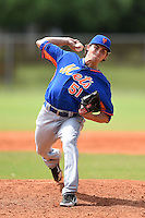 New York Mets pitcher Bret Mitchell (51) during a minor league spring training game against the Miami Marlins on March 28, 2014 at Roger Dean Stadium in Jupiter, Florida.  (Mike Janes/Four Seam Images)