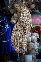 Yogyakarta, Java, Indonesia.  Bird Food for Sale, Bird Market.