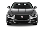 Car photography straight front view of a 2020 Jaguar XE S 4 Door Sedan