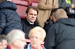 Hamilton Accies v St Johnstone….18.05.19      New Douglas Park        SPFL<br />Dundee United manager Robbie Neilson pictured in the stands<br />Picture by Graeme Hart. <br />Copyright Perthshire Picture Agency<br />Tel: 01738 623350  Mobile: 07990 594431