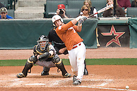 NCAA Baseball featuring the Texas Longhorns against the Missouri Tigers. Rupp, Cameron 5033  at the 2010 Astros College Classic in Houston's Minute Maid Park on Sunday, March 7th, 2010. Photo by Andrew Woolley