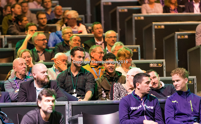 Rotterdam, The Netherlands, 14 Februari 2019, ABNAMRO World Tennis Tournament, Ahoy, Vincenzo, Jan Kooiman,<br /> Photo: www.tennisimages.com/Henk Koster