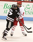 Doyle Somerby (BU - 27), Chad Krys (BU - 5) - The Boston University Terriers tied the visiting Providence College Friars 2-2 on Saturday, December 3, 2016, at Agganis Arena in Boston, Massachusetts.