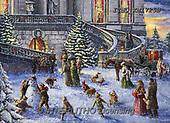 Marcello, CHRISTMAS LANDSCAPES, WEIHNACHTEN WINTERLANDSCHAFTEN, NAVIDAD PAISAJES DE INVIERNO, paintings+++++,ITMCXM1725B,#XL#