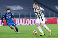 3rd January 2021, Allianz Stadium, Turin Piedmont, Italy; Serie A Football, Juventus versus Udinese; Dejan Kulusevski of Juventus Fc in action during the Serie A match between Juventus FC and Udinese