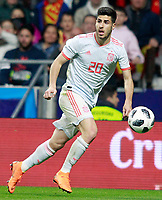 Spain's Marco Asensio during international friendly match. March 27,2018. *** Local Caption *** © pixathlon<br /> Contact: +49-40-22 63 02 60 , info@pixathlon.de