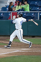 June 25, 2008: The Everett AquaSox's Kevin Reynolds takes a swing during a Northwest League game against the Boise Hawks at Everett Memorial Stadium in Everett, Washington.