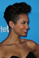 CULVER CITY, LOS ANGELES, CA, USA - FEBRUARY 27: Alicia Keys at the 1st Annual unite4:humanity Presented by unite4:good and Variety held at Sony Pictures Studios on February 27, 2014 in Culver City, Los Angeles, California, United States. (Photo by Xavier Collin/Celebrity Monitor)