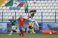 20190306 - LARNACA , CYPRUS : illustration picture during a women's soccer game between Czech Republic and Mexico , on Wednesday 6 March 2019  at the Antonis Papadopoulos Stadium in Larnaca , Cyprus . . This last game for both teams which decides for places 5 and 6 of the Cyprus Womens Cup 2019 , a prestigious women soccer tournament as a preparation on the Uefa Women's Euro 2021 qualification duels. PHOTO SPORTPIX.BE | STIJN AUDOOREN