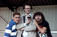 Fans of Barking Football Club circa 1990 - MANDATORY CREDIT: Gavin Ellis/TGSPHOTO - Self billing applies where appropriate - Tel: 0845 094 6026