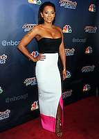 NEW YORK CITY, NY, USA - AUGUST 06: Mel B, Melanie Brown arrives at the 'America's Got Talent' Season 9 Post Show Red Carpet Event held at Radio City Music Hall on August 6, 2014 in New York City, New York, United States. (Photo by Celebrity Monitor)