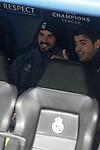 Real Madrid's Isco Alarcon (l) and Alvaro Morata during Champions League 2016/2017 Round of 16 1st leg match. February 15,2017. (ALTERPHOTOS/Acero)