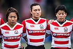Makoto Ebuchi of Japan (c) during the Womens Rugby World Cup 2017 Qualifier match between Hong Kong and Japan on December 17, 2016 in Hong Kong, Hong Kong. Photo by Marcio Rodrigo Machado / Power Sport Images