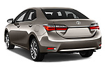 Car pictures of rear three quarter view of 2017 Toyota Corolla Lounge 4 Door Sedan Angular Rear