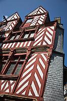 Europe/France/Bretagne/35/Ille et Vilaine/Rennes: La maison Du Guesclin à Rennes -1505